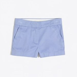 JCREW Light Blue 3in Inseam Chino shorts